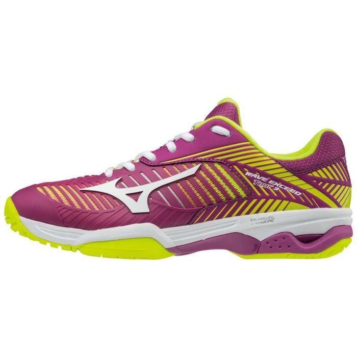 Chaussures de tennis Femme Mizuno Wave Exceed Tour 3 CC