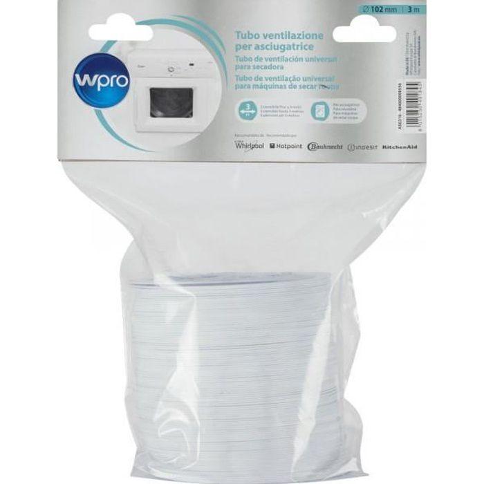 ASG310 - Gaine pour sèche-linge à évacuation WPRO 484000008556