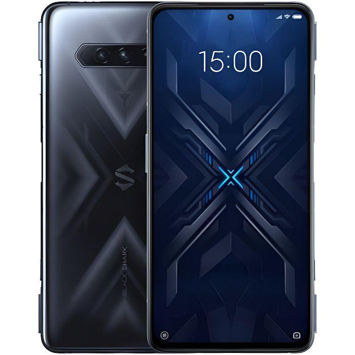 Black Shark 4 5G 8GB 128GB Version internationale Norme européenne Noir Qualcomm@ SnapdragonTM 870 LPDDR5 RAM + UFS3.1 Storage 144Hz