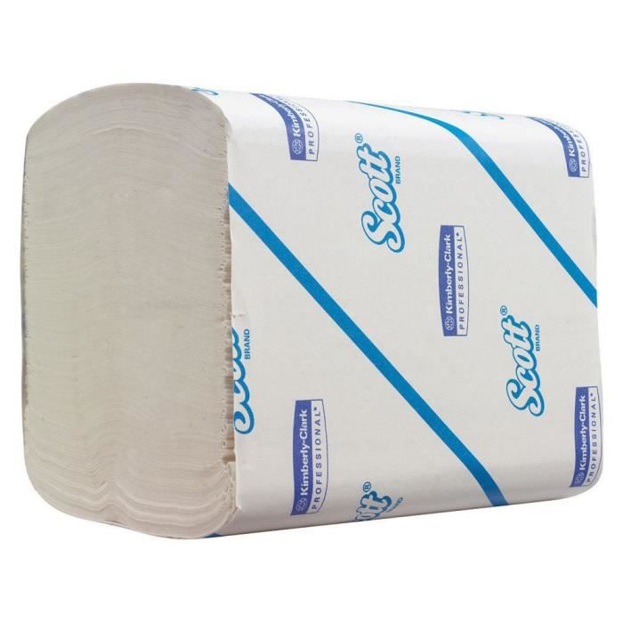 Papier toilette SCOTT - 250 feuilles - Carton de 36 paquets