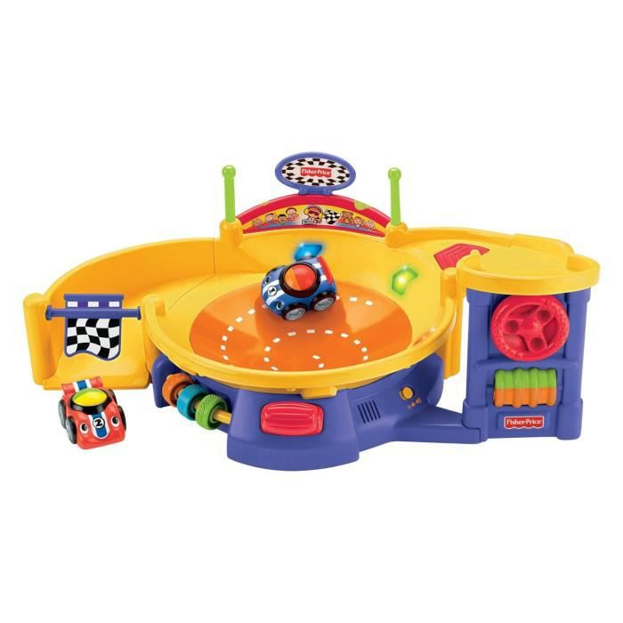 CIRCUIT Fisher-Price Piste Musicale Roll'N'Racers