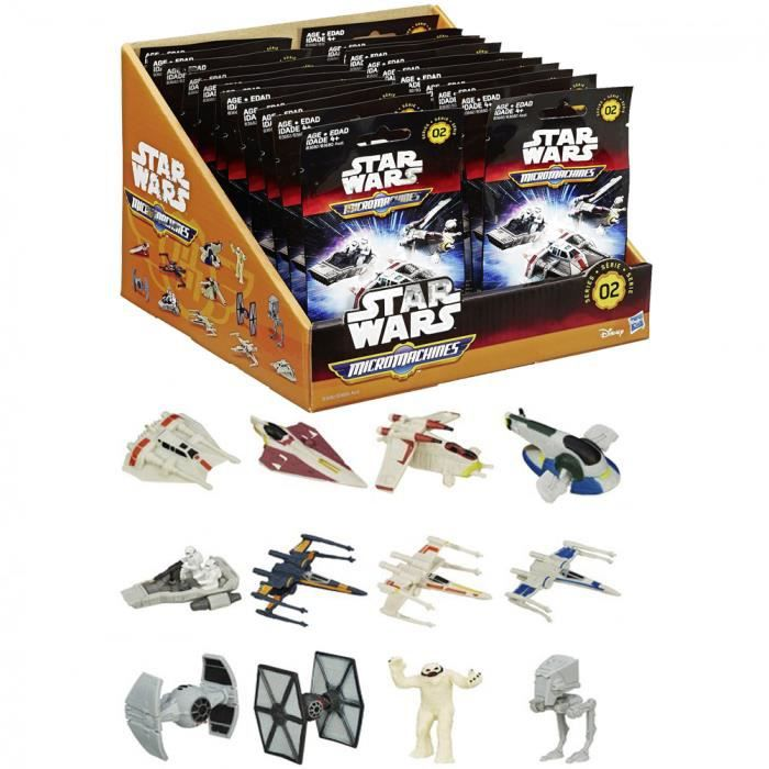un sachet de mini vehicule micromachines star wars 7  figurines autre