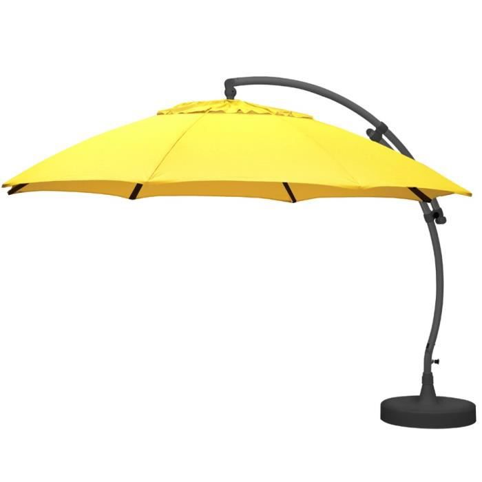 parasol d port 375 xl olefin jaune paille achat vente parasol parasol d port 375 xl olef. Black Bedroom Furniture Sets. Home Design Ideas