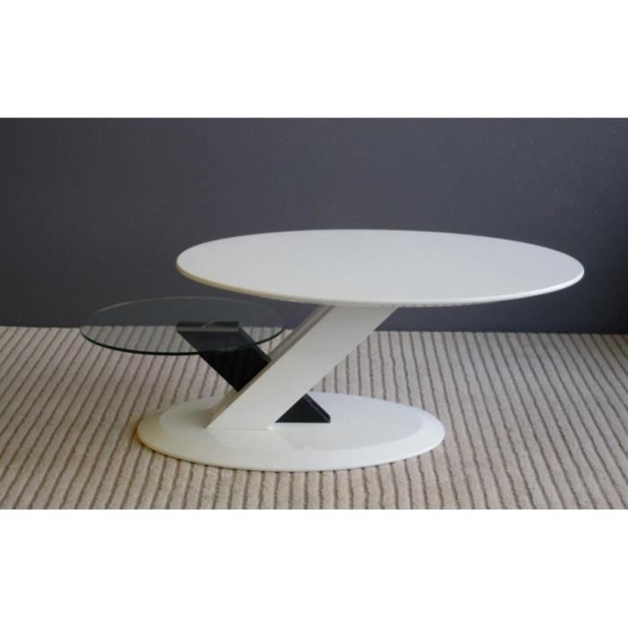 Table Basse Ovale Blanc Images