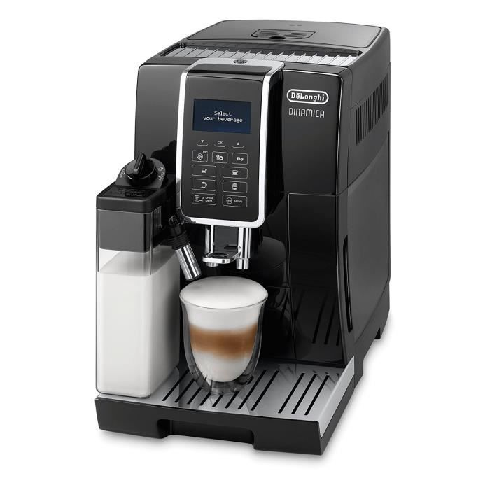 MACHINE À CAFÉ DELONGHI ECAM 350.55.B Expresso broyeur Dinamica -