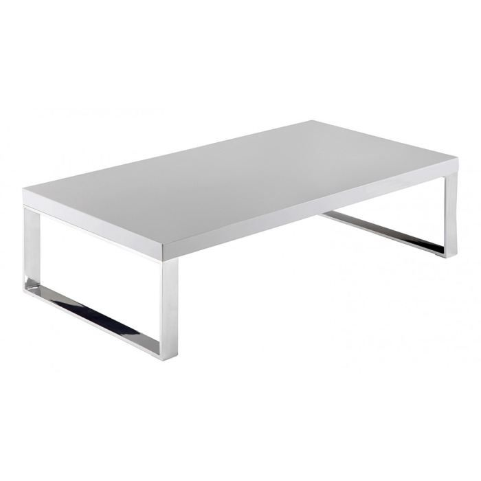 table basse laqu gris rectangulaire 110 cm eno achat. Black Bedroom Furniture Sets. Home Design Ideas