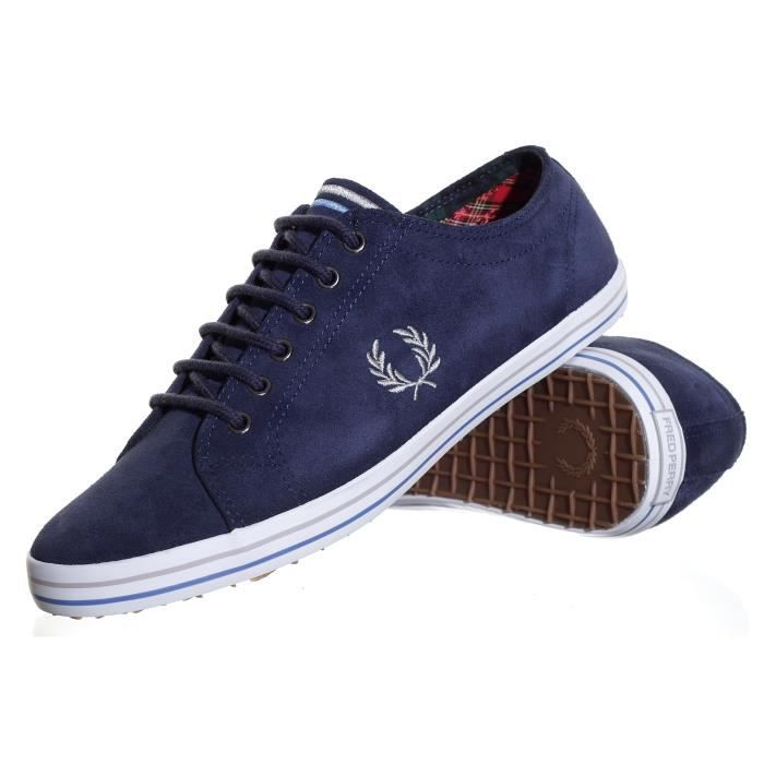 chaussure fred perry kingston su homme bleu achat vente chaussure fred perry kingst. Black Bedroom Furniture Sets. Home Design Ideas