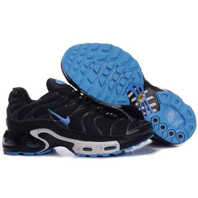 Nike Air Max TN Noire/Bleue 44 44 - Cdiscount Chaussures