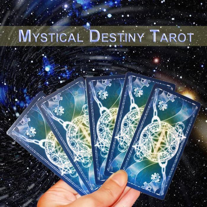 Cartes De Tarot Jeux Amis De Famille Lire Mythic Fate Divination Jeux De Table Achat Vente Carte A Collectionner Cdiscount