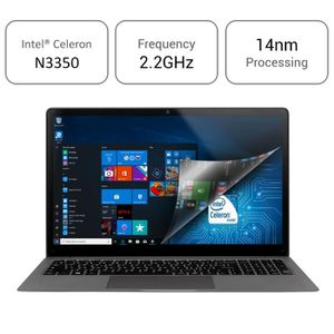 """Acheter matériel PC Portable  Ordinateur Portable-Winnovo KenBook-15.6"""" FHD IPS Écran-Intel Celeron-6 Go RAM-1 To Stockage-Windows 10-Soutenir SSD Extension-Gris pas cher"""