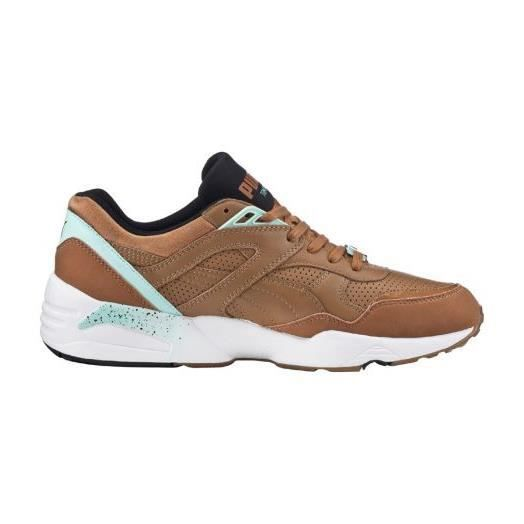 Baskets Puma R698 Leather Chipmunk Aqua