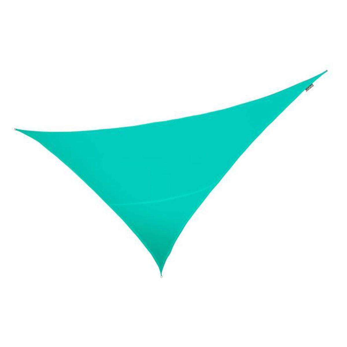 Voile D Ombrage Solide voile d'ombrage turquoise triangle rectangle 4,2m