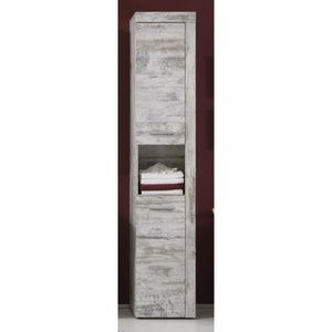 COLONNE - ARMOIRE SDB CANCUN Colonne de salle de bain 36 cm 2 portes