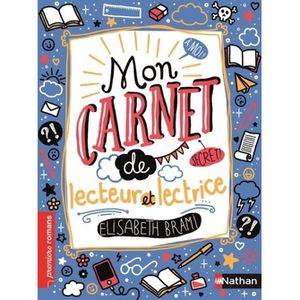 Livre 6-9 ANS Mon carnet secret de lecteur et lectrice