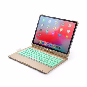 COMPOSANT - ACCESSOIRE  New 2018 iPad Pro 11 Inch Case Keyboard With Blue