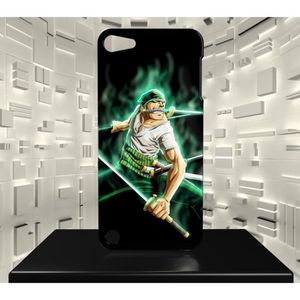 COQUE MP3-MP4 Coque Ipod Touch 5 ONE PIECE ZORRO RORONOA 05