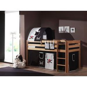 lit sur lev enfant habillage pirate coloris achat vente lit combine cdiscount. Black Bedroom Furniture Sets. Home Design Ideas