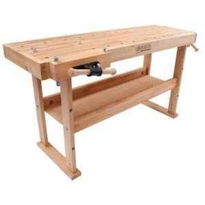 ETABLI - MEUBLE ATELIER Holzprofi - Etabli bois de menuisier surface de tr