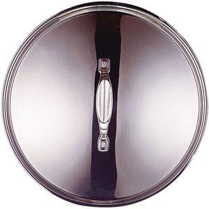 COUVERCLE VENDU SEUL Couvercle en inox Chef - D: 16 cm