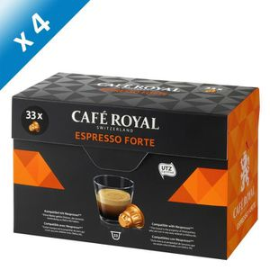 CAFÉ CAFE ROYAL Espresso Forte - Compatibles avec le sy