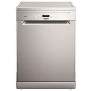 LAVE-VAISSELLE HOTPOINT- HFC3C26FX - lave vaisselle posable 60 cm