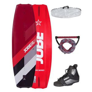 WAKEBOARD JOBE Logo Series Pack avec Wakeboard - Chausses -