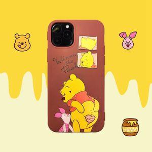 COQUE - BUMPER Coque iPhone 11,Disney Pooh Bear Jaune Antichoc 1