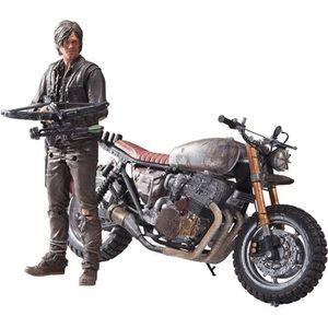 FIGURINE - PERSONNAGE Figurine The Walking Dead 5&6 : Daryl Dixon avec C