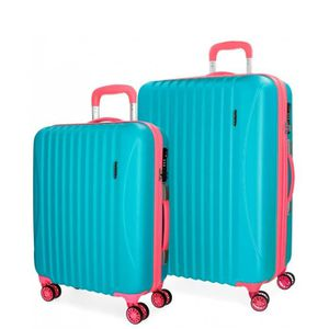 VALISE - BAGAGE Cirque Movom bagages mis Turquoise 55-67cm rigide