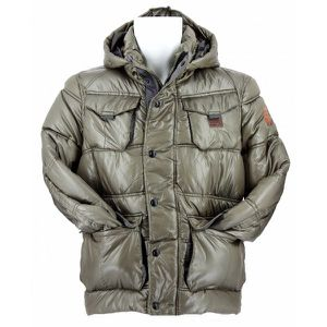 DOUDOUNE Doudoune G-Star Whistler Hooded Pocket Puffer Jack