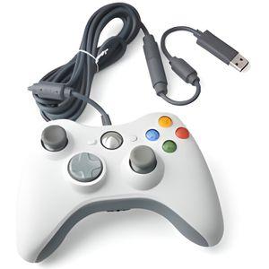 MANETTE JEUX VIDÉO Manette filaire Pour Xbox 360 - Compatible PC -…
