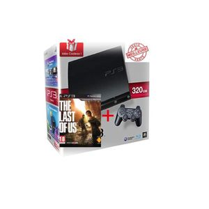 CONSOLE PS3 PS3 slim 320go + The Last Of Us