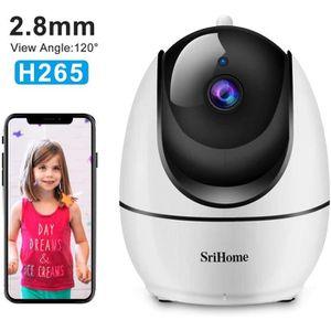 CAMÉRA IP Caméra de Surveillance WiFi Intérieur, Srihome SH0