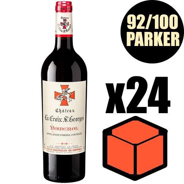 X24 Château La Croix Saint-Georges 2016 75 cl AOC Pomerol Vin Rouge