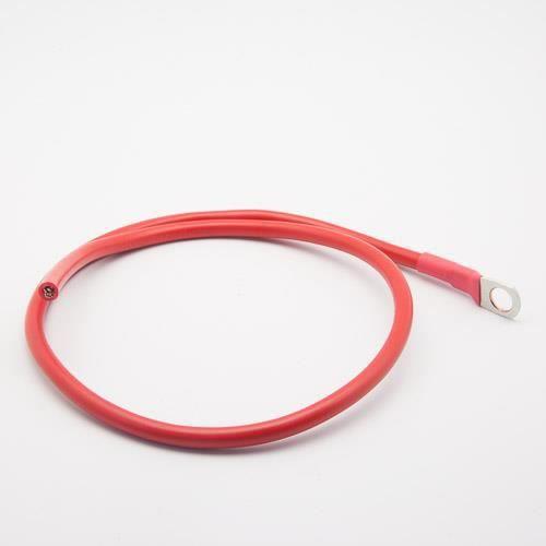 Câble de connexion batterie - régulateur 16mm² 1 cosse M8 rouge (Longueur : 2 Mètres)
