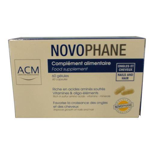 Novophane Cheveux et des Ongles 60caps