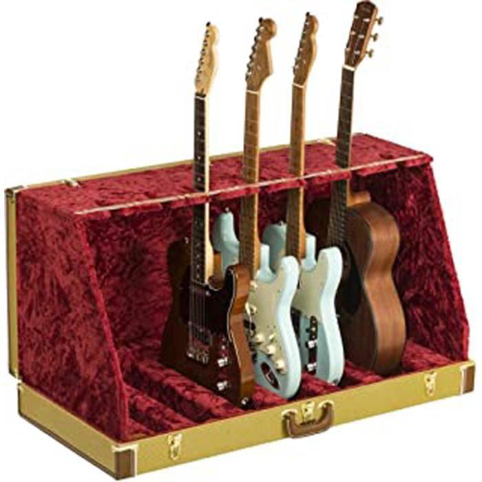 ® Classic Series - Support de guitare dans étui rigide - 7-Guitar - Tweed