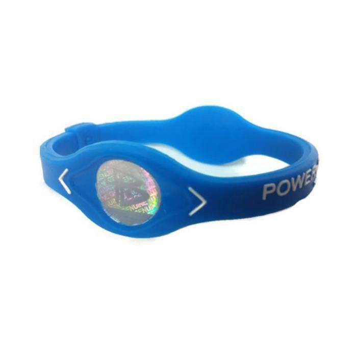 Équipement de fitness 133 Power Energy Bracelet Sport Bracelets Balance Ion Magnetic Therapy Silicone