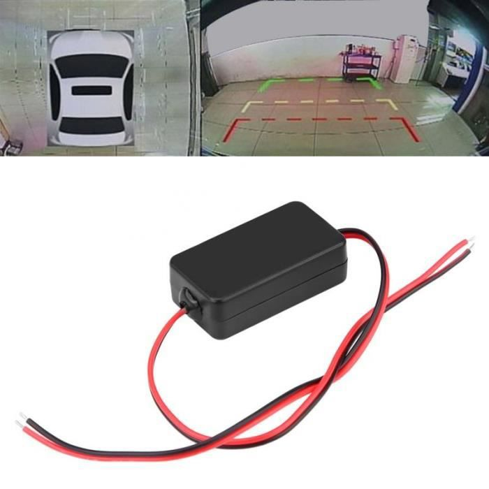Filtre Antiparasite 12 volts pour caméra de recul