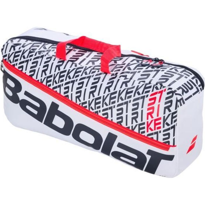Sac Babolat Pure Strike Duffle 2020 - Couleur:Blanc Type Thermobag:6 raquettes