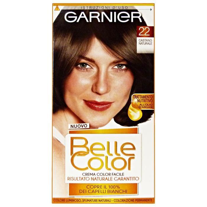 BELLE COLOR 22 Brun Naturel - Teinture Pour Les Cheveux