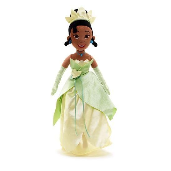 Jouet de poupée souple Tiana, 52 cm Disney, princesse et grenouille