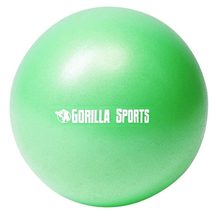 Ballon de Pilates vert Soft Ball - Diamètre : 23 cm