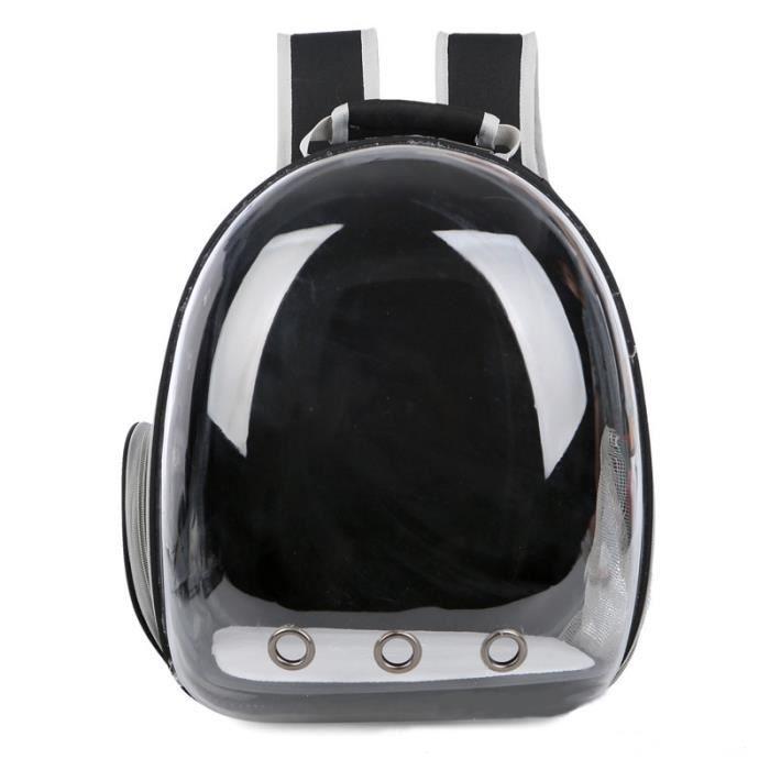 HZDHCLH® Sac à dos de voyage transport tout transparent avec une visibilité 180° pour chat 6,5 kg chien 5 kg
