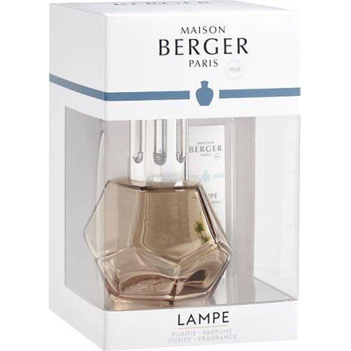 COFFRET LAMPE DIFFUSEUR DE PARFUM GEOMETRY MIEL - MAISON BERGER PARIS