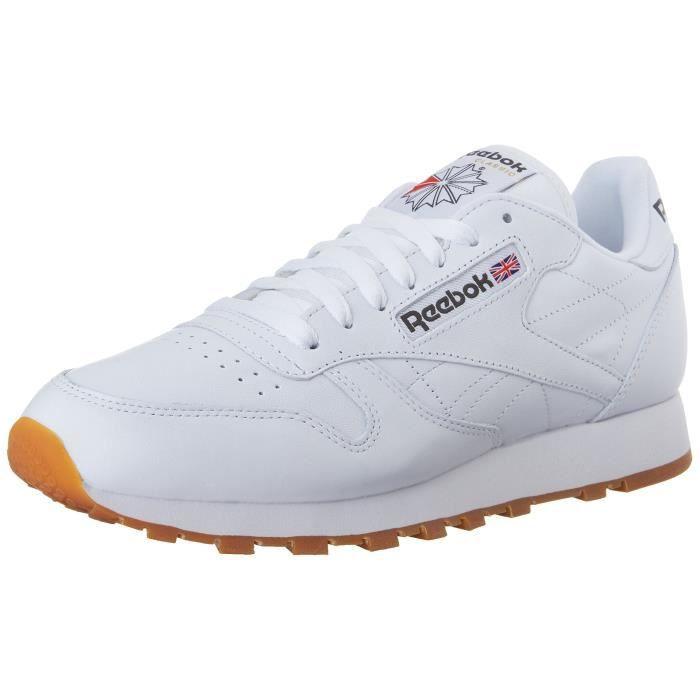 Chaussures De Running REEBOK VJHLQ Sneaker mode classique en cuir Taille-46