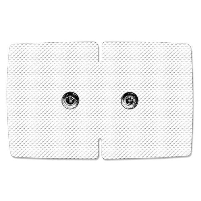 2 électrodes wx doubles avec 2 boutons pression sport-elec Sport-Elec Electrostimulation