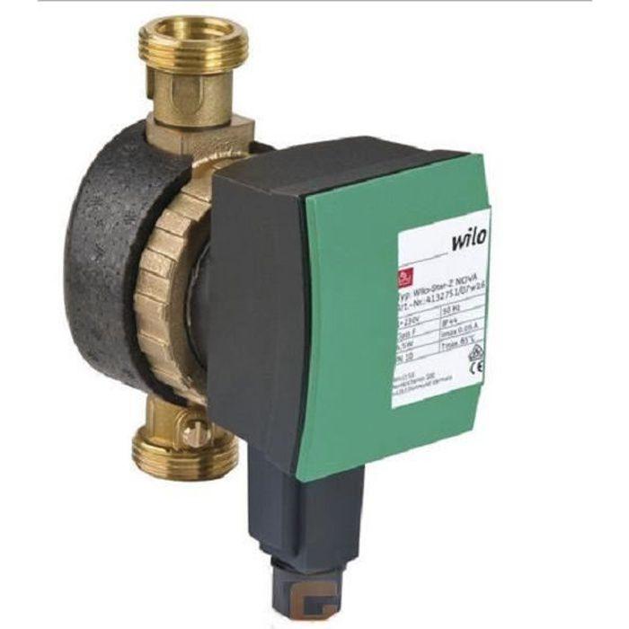 Circulateur Wilo Star Nova Z 15A 140mm pompe pour eau potable