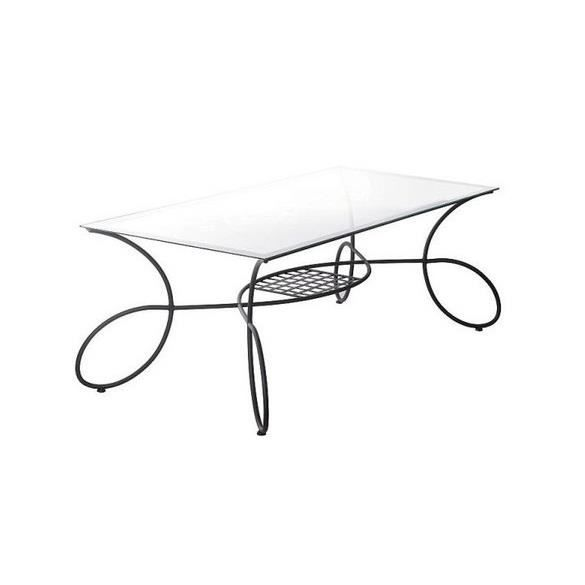 Table en fer forg c line achat vente table a manger - Table fer forge exterieur ...