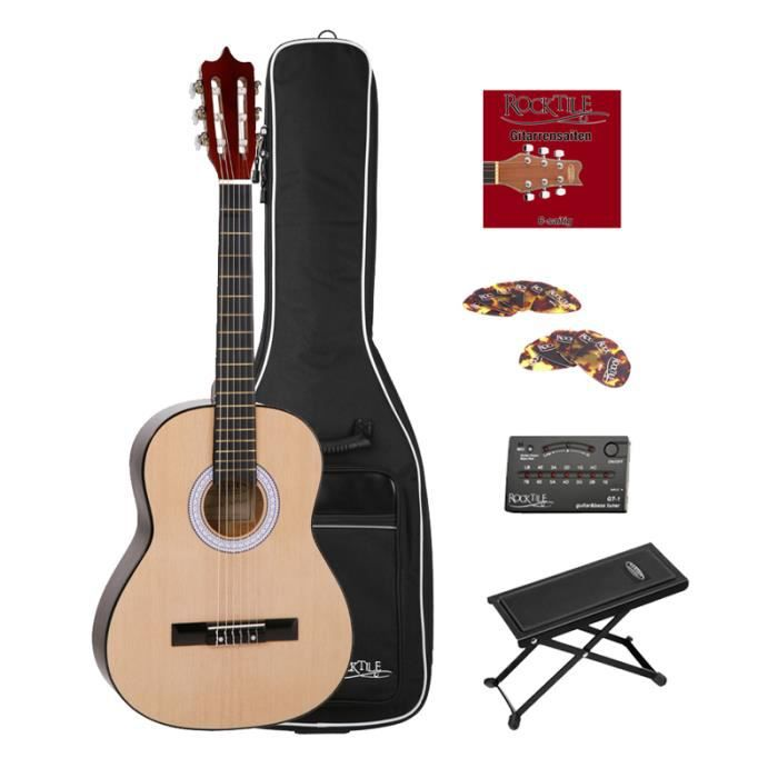 classic cantabile junior guitare classique set avec le sac. Black Bedroom Furniture Sets. Home Design Ideas